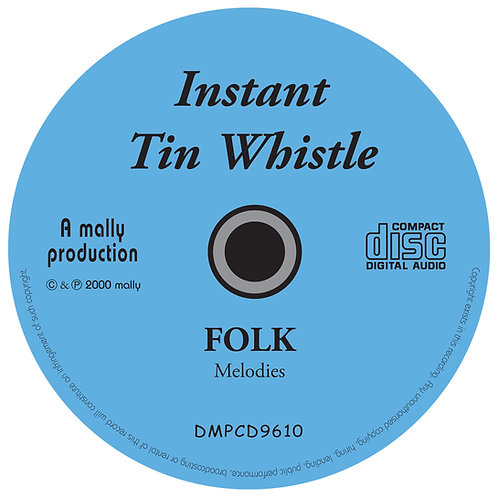 Instant Tin Whistle Folk CD
