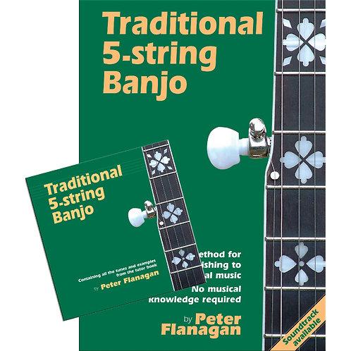 Traditional 5-String Banjo Book and CD - Peter Flanagan