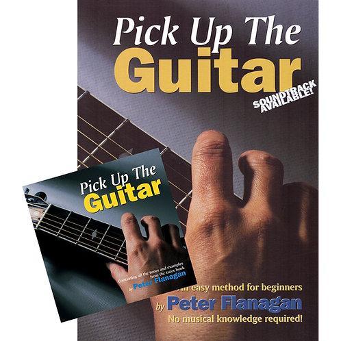 Pick Up the Guitar Book and CD - Peter Flanagan