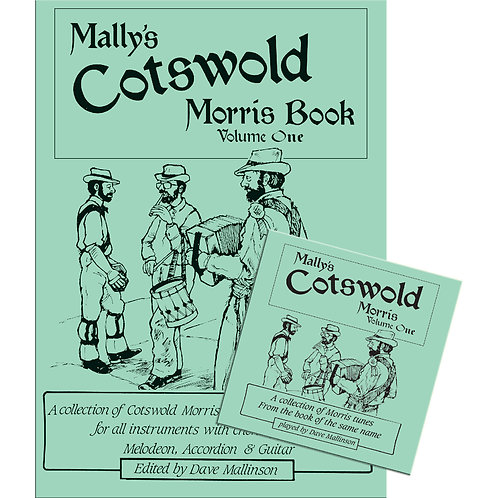 Mally's Cotswold Morris Book and CD Volume 1 - Dave Mallinson