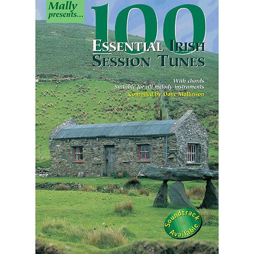 100 Essential Irish Session Tunes Book - Dave Mallinson