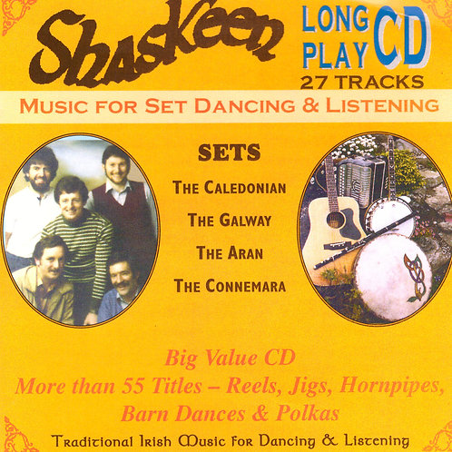The Joys of Life and Shaskeen Live CD - The Shaskeen