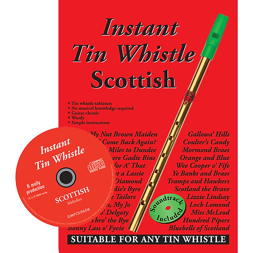 Instant Tin Whistle Scottish CD Edition - Dave Mallinson
