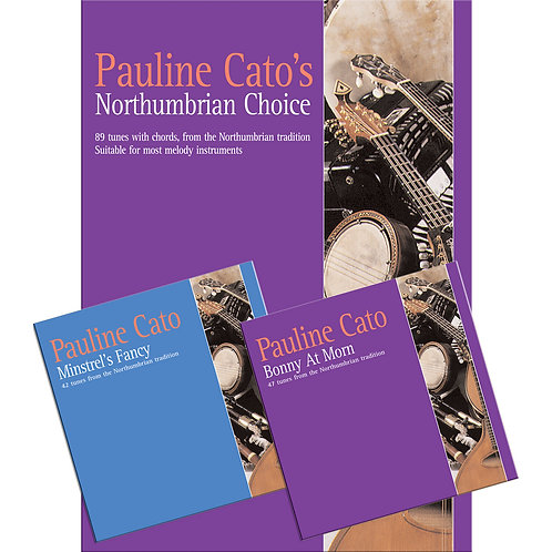 Pauline Cato's Northumbrian Choice Book and 2 CDs - Pauline Cato