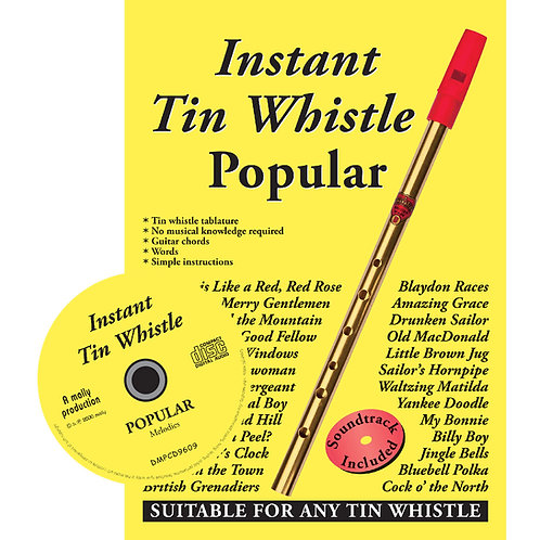 Instant Tin Whistle Popular CD Edition - Dave Mallinson