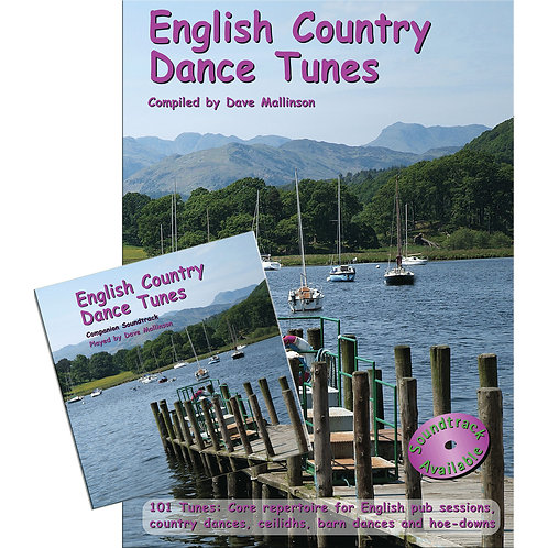 English Country Dance Tunes Book and CD - Dave Mallinson