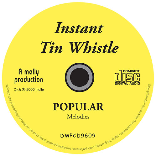 Instant Tin Whistle Popular CD