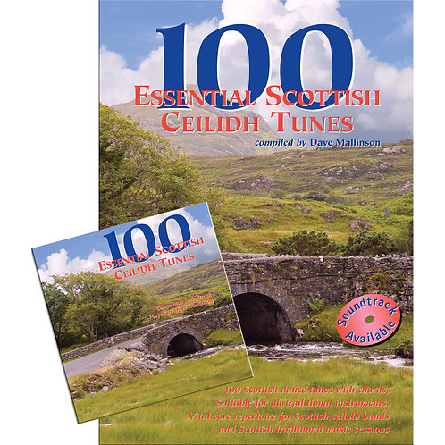 100 Essential Scottish Ceilidh Tunes Book and CD - Dave Mallinson