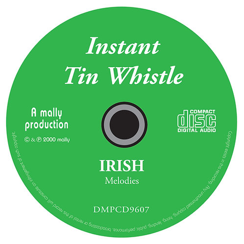 Instant Tin Whistle Irish CD
