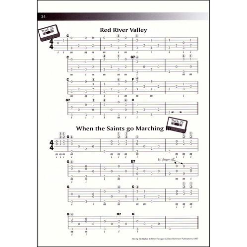 Pick Up the Guitar Book - Peter Flanagan