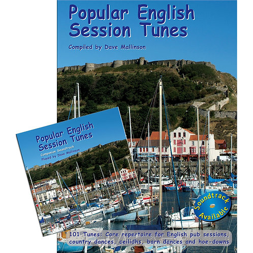 Popular English Session Tunes Book and CD - Dave Mallinson