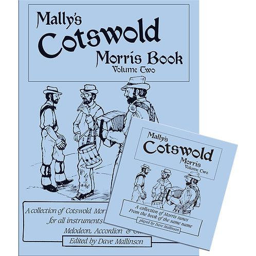 Mally's Cotswold Morris Book and CD Volume 2 - Dave Mallinson