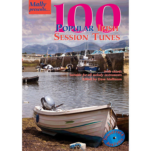 100 Popular Irish Session Tunes Book - Dave Mallinson