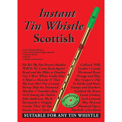 Instant Tin Whistle Scottish Book - Dave Mallinson