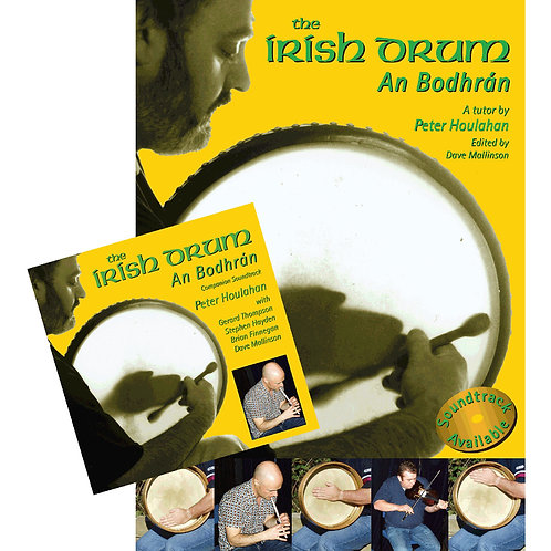 The Irish Drum An Bodhrán Book and CD - Peter Houlahan and Dave Mallinson