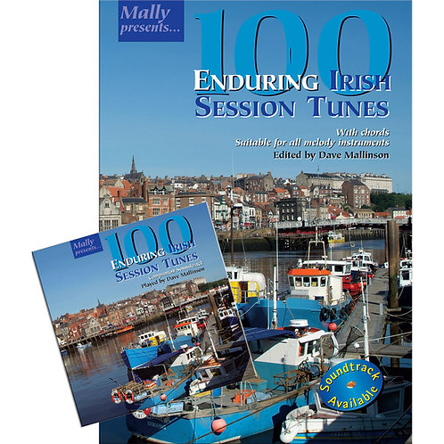 100 Enduring Irish Session Tunes Book and CD - Dave Mallinson