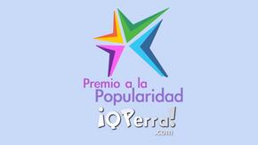 Votaciones Premio a la Popularidad - Premio Qperra