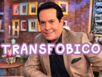 ¡Juan José Origel Transfóbico!