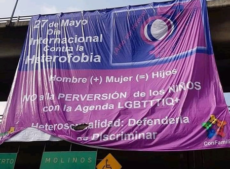 """""""Día contra la Heterofobia"""" en México"""