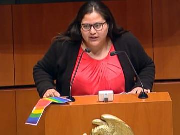 Atentado en el Senado: Explota un libro-bomba contra la senadora Citlalli Hernández