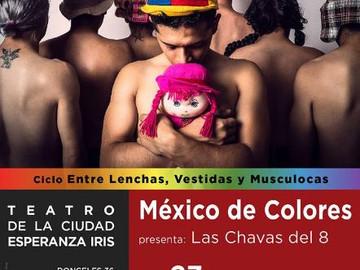 México de colores celebra su octavo aniversario y presentará las chavas del 8