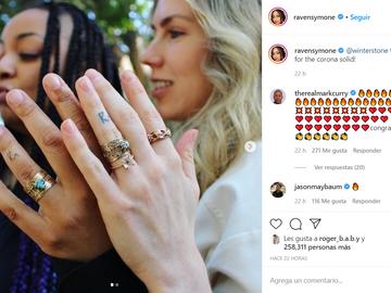 La  estrella de Disney Raven Symoné se ha casado