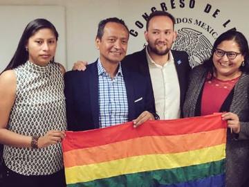 Temistocles Villanueva presenta iniciativa para prohibir las terapias de conversión sexual en CDMX