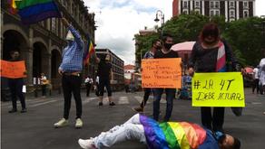 Manifestación en Cuernavaca por el crimen de Javo Eduardo