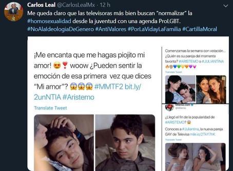 Morenista Homofobico y la Secretaría de Diversidad Sexual... Callada