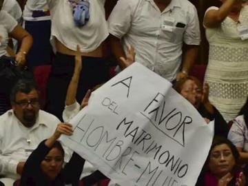Yucatán votan en contra del matrimonio Igualitario