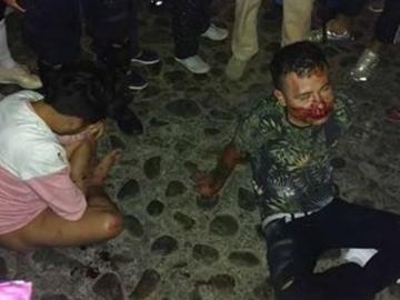 Taxistas agreden y golpean a pareja gay en Oaxaca