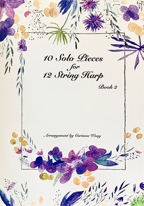 10 Solo Pieces for 12 String Harp Book 2