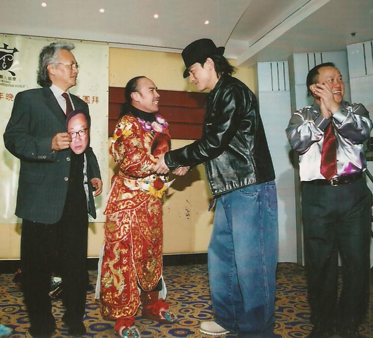 演藝人協會10周年晚宴