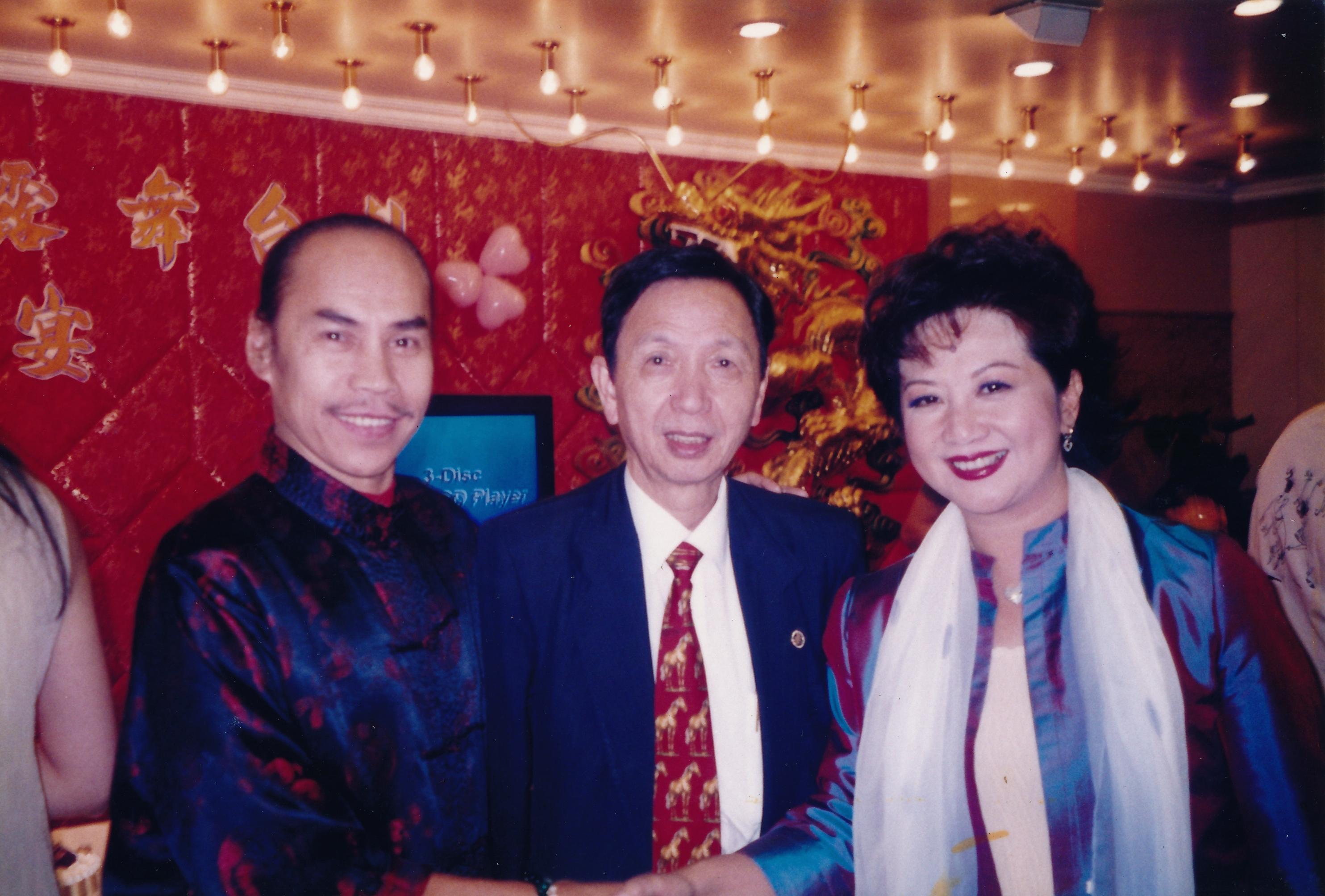張耀榮先生、薛家燕女士