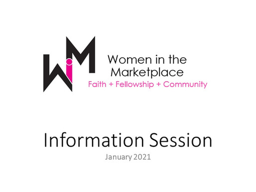 What's Happening at WiM in 2021