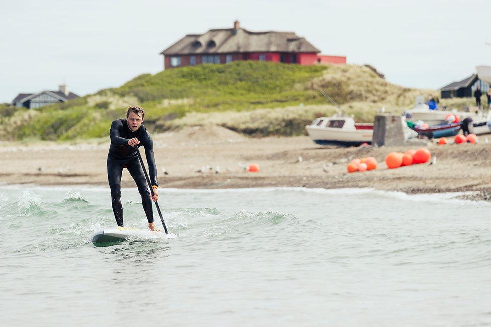 Stand-up paddling i klitmøller