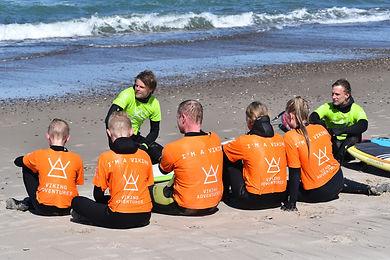 Surfcamp i Klitmøller - Viking Adventures