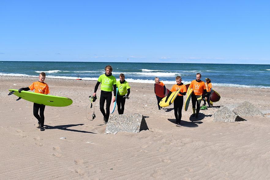 Surfskole i Klitmøller