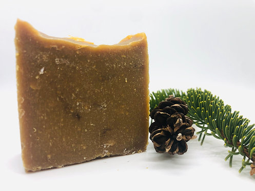 Pine Tar and Tea Tree Oil Goat Milk Soap