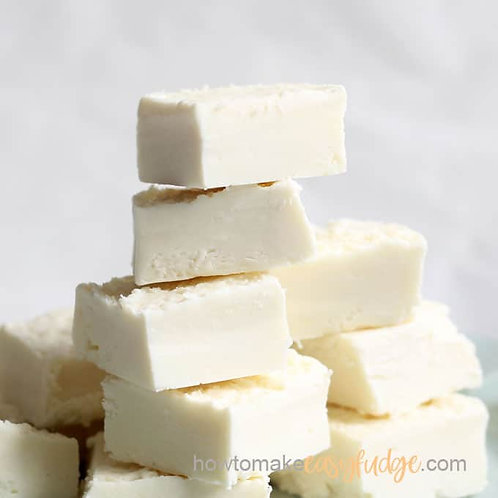 White Almond Goat Milk Fudge