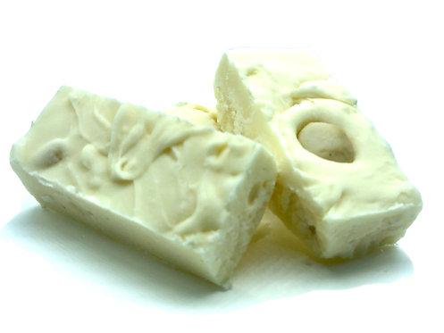 White Chocolate Macadamia Nut Goat Milk Fudge