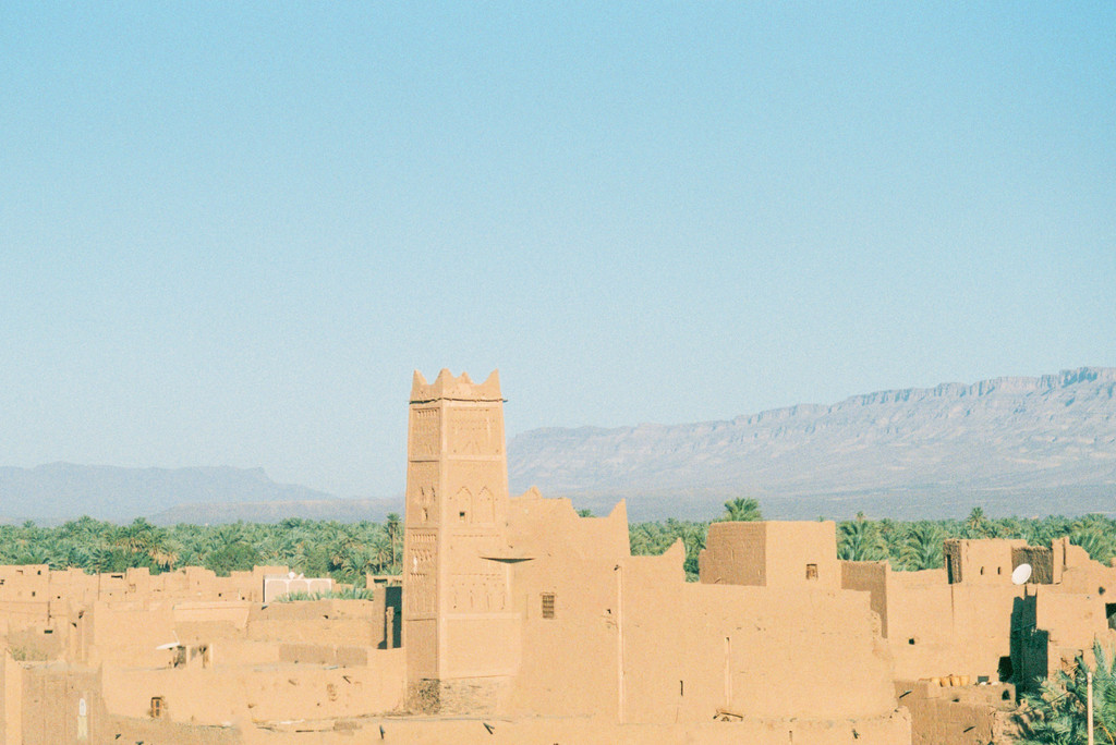 Vivid fragments of Morocco - A thousand