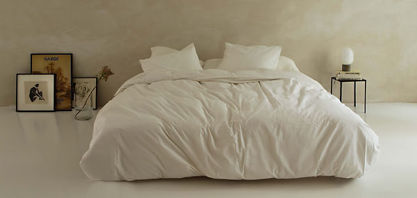Crisp Sheets bedding by debbie trouerbac