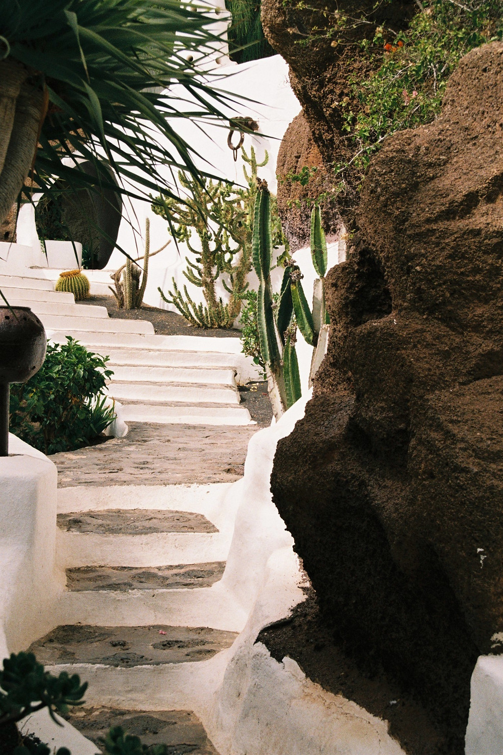 Lagomar Museum in Lanzarote, architectural work by César Manrique and the home of Omar Sharif