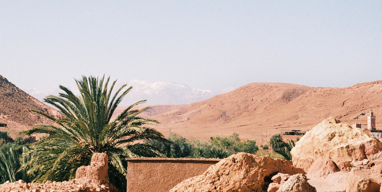 Landscapephotography atlas mountains mor