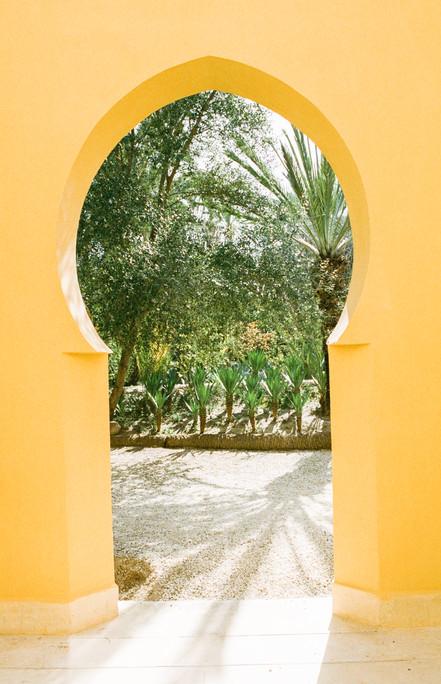 Vivid fragments of Morocco - Jnane Tamsn