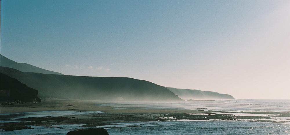 Studio Joko visits Legzira coast Morocco