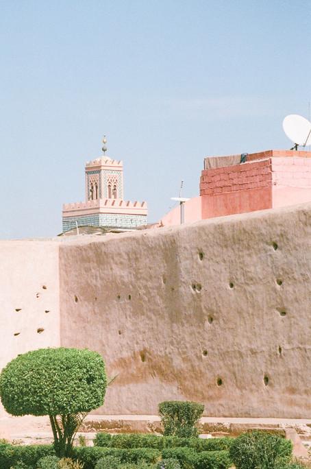 Vivid fragments of Morocco - Kasbah - De