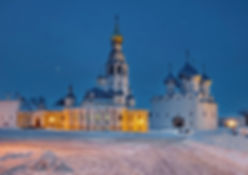 Ферапонтово, Вологда, Волгодский кремль, Фото Вологодского Кремля, ЮНЕСКО, Вологодский кремль ночью, Зима