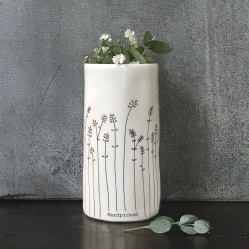 East of India small porcelain vase